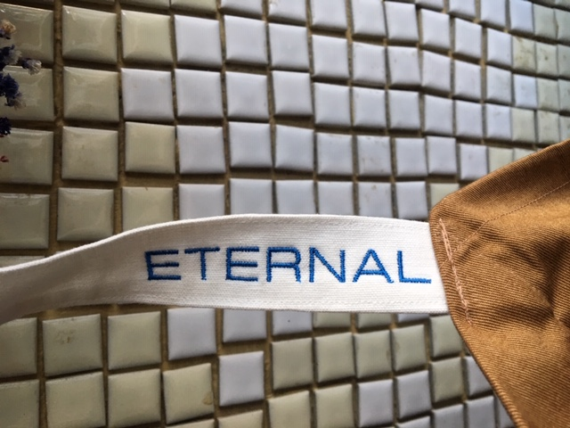 ETERNAL apron : yes good market on sale