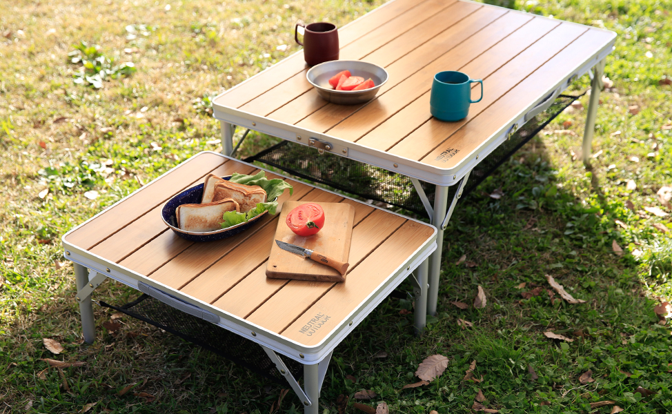 NEUTRAL OUTDOOR : bamboo table