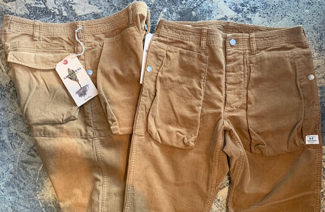 Digs Crew Pants/summer corduroy: sassafras