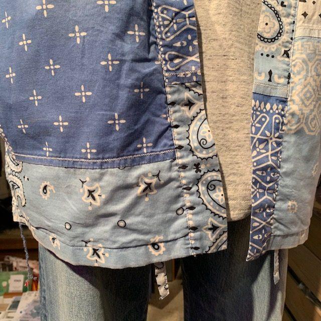 kapital bandanna patchwork kakashi shirts