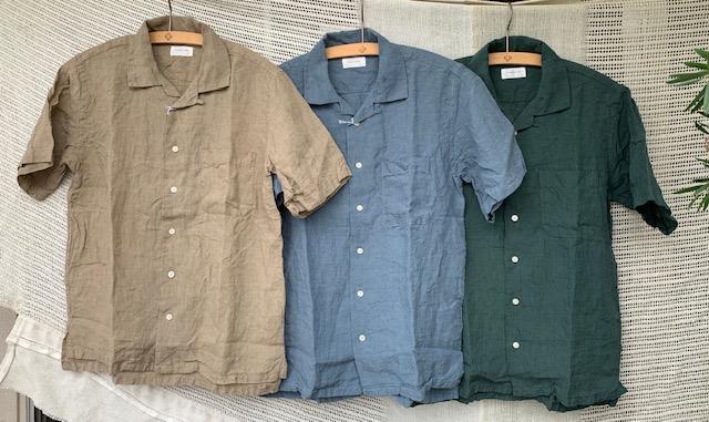 spinner bait :linen shirts
