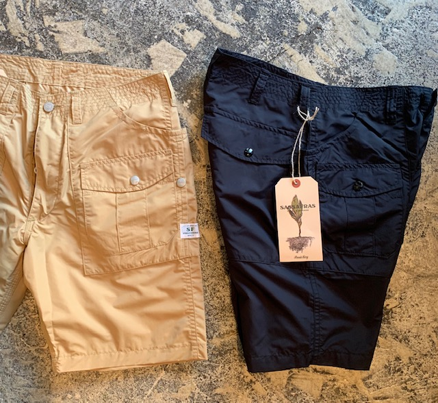 Botanical Scout Pants 1/2 :sassafras
