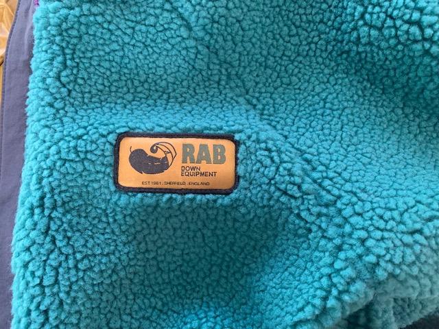 Rab: original pile jacket japan limited