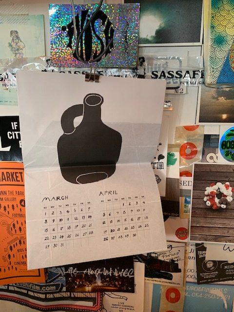 Yachiyo katsuyama :2020 calendar
