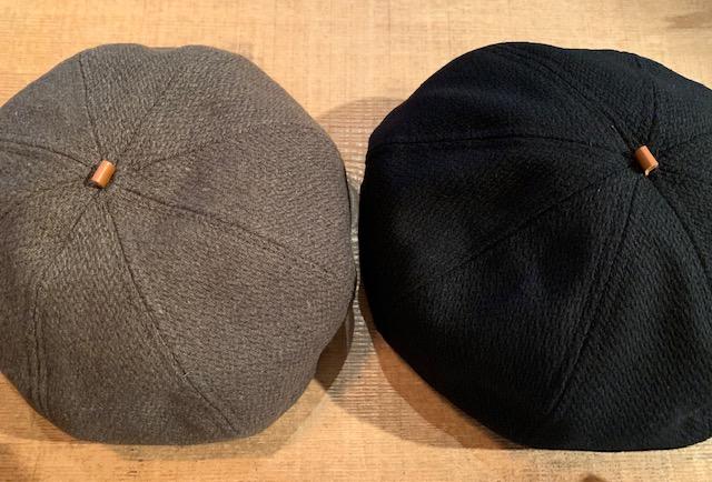 Dobby melton beret:HIGHER