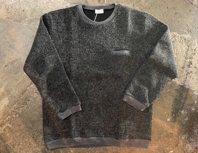 spinnerbait:アイスランディックウールクルーセーター