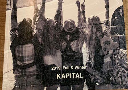 kapital: new catalog 2019 fall winter
