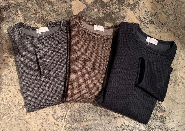 birds eye fleece sweater:spinner bait
