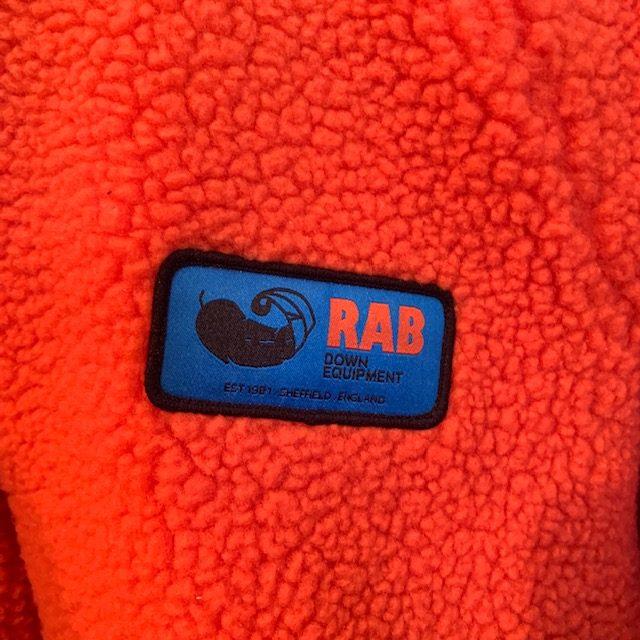 Rab: original pile jacket