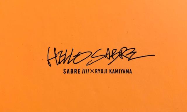 """Sabre ×Ryuji Kamiyama """"TOMA"""""""