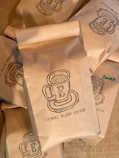 ETERNAL blend coffee restock
