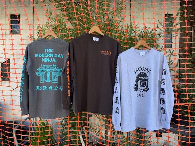 tacoma fuji records 2020 longsleeve tee 2/11 release