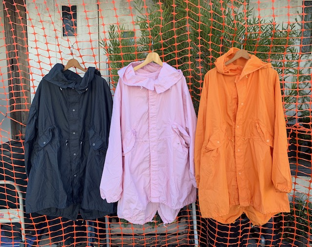 over dye : army wear