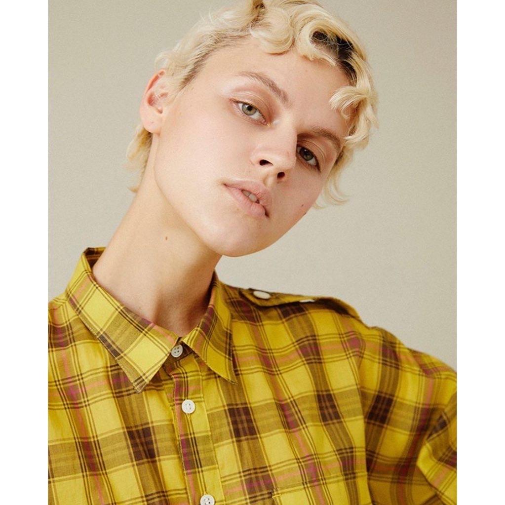 SUPP : cotton check shirts OP