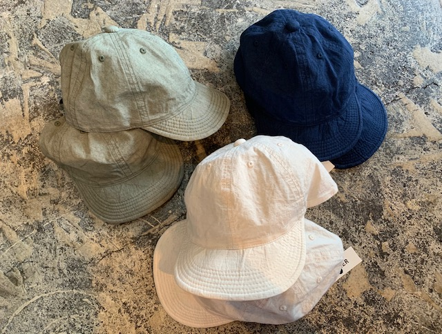 HIGHER: cottonlinen cap