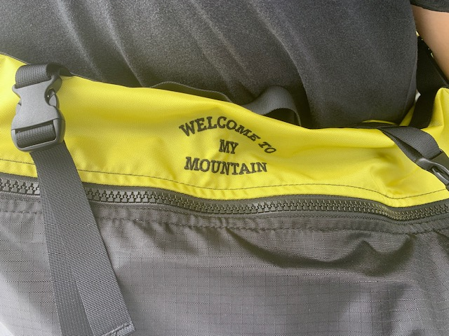 one shoulder bag :mountain research