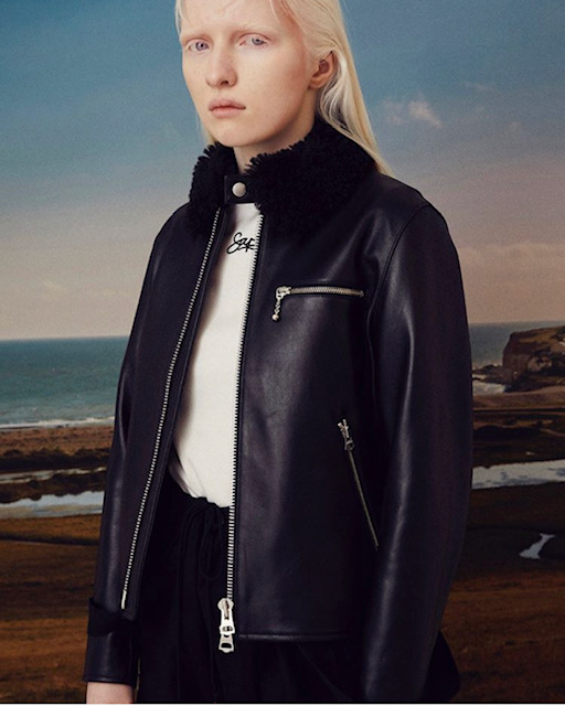SUPP: leather jacket for womens