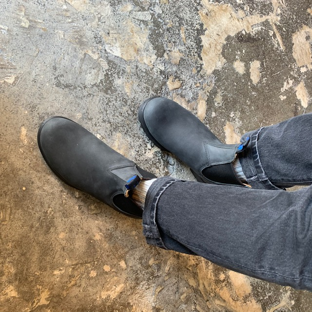 Blund stone : thermal / rusticblack