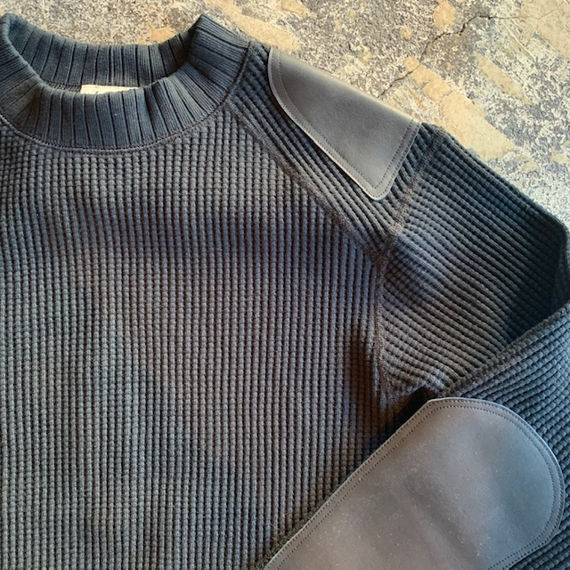 jackman 2021SS : Armored leather midneck