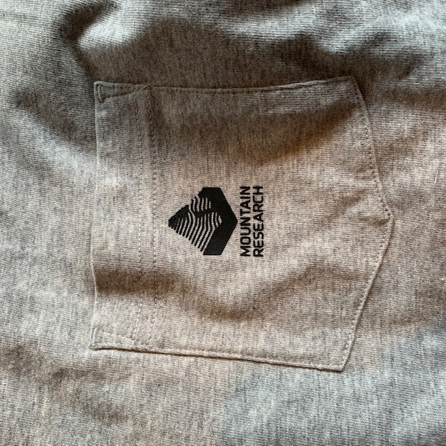 mountain research 21SS tee