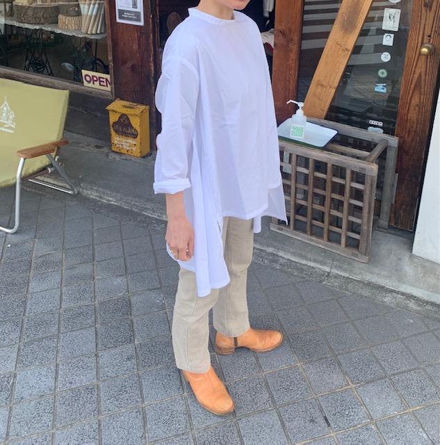 CAERULA×ETERNAL :back flare shirts ☆special