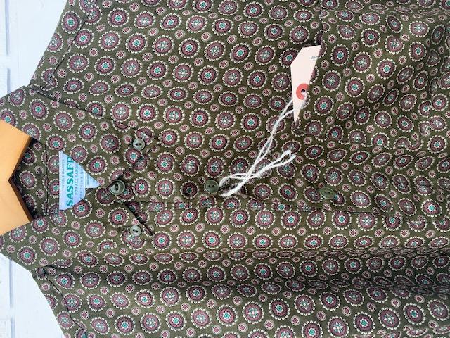 Wheel Barrow shell shirt1/2 :sassafras