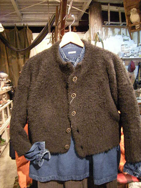 woolfur dolman stand jacket