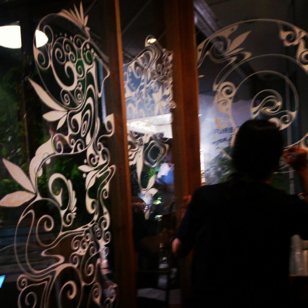 ifni coffee store&takeru iwazaki live paint