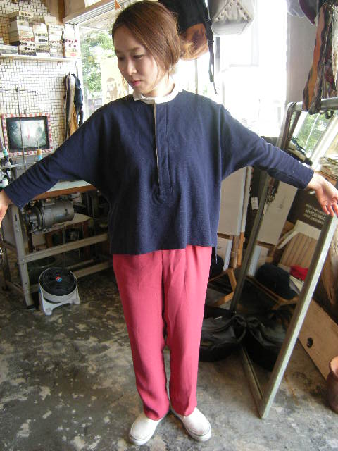 鹿の子dolman rugger shirts