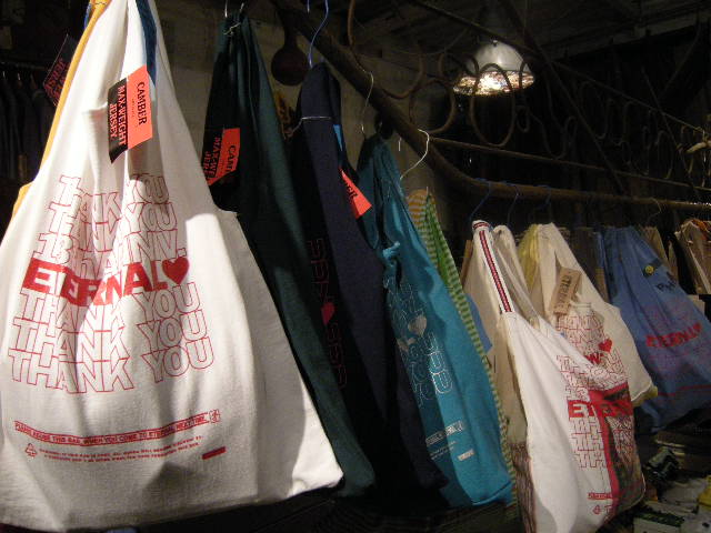 made in  ETERNAL shopping bag !