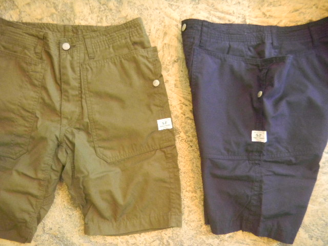 FALL LEAF SPRAYER PANT 1/2 WEED POPLIN cotton100% :union made