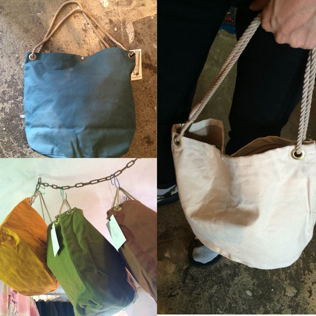 NAPRON:OVAL SAC BAG
