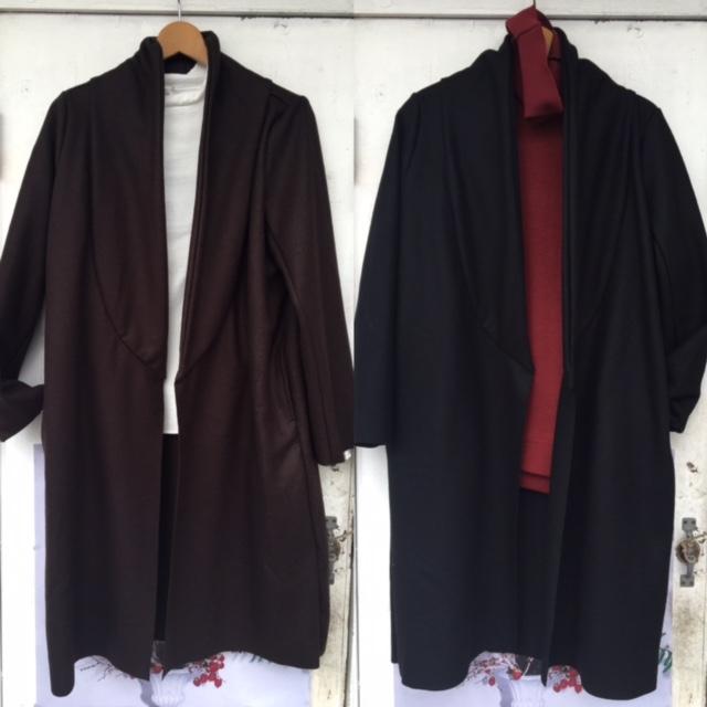 kya shawl cardigan:CAERULA