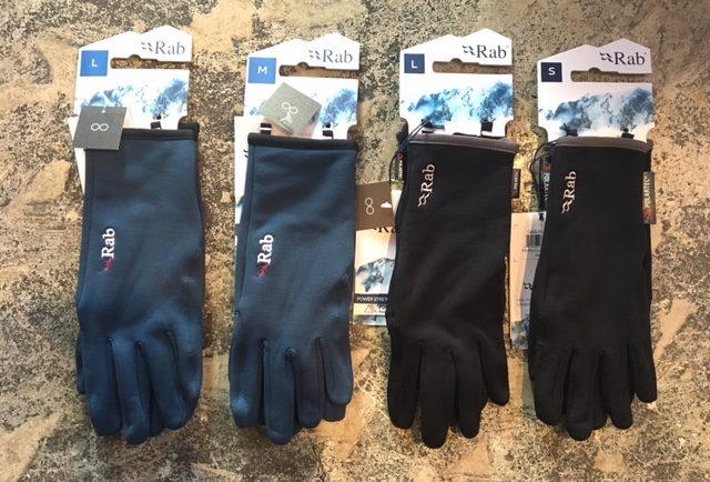 Rab : polartec power stretch glove
