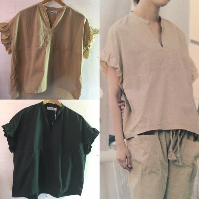 CAERULA:frill pull shirts