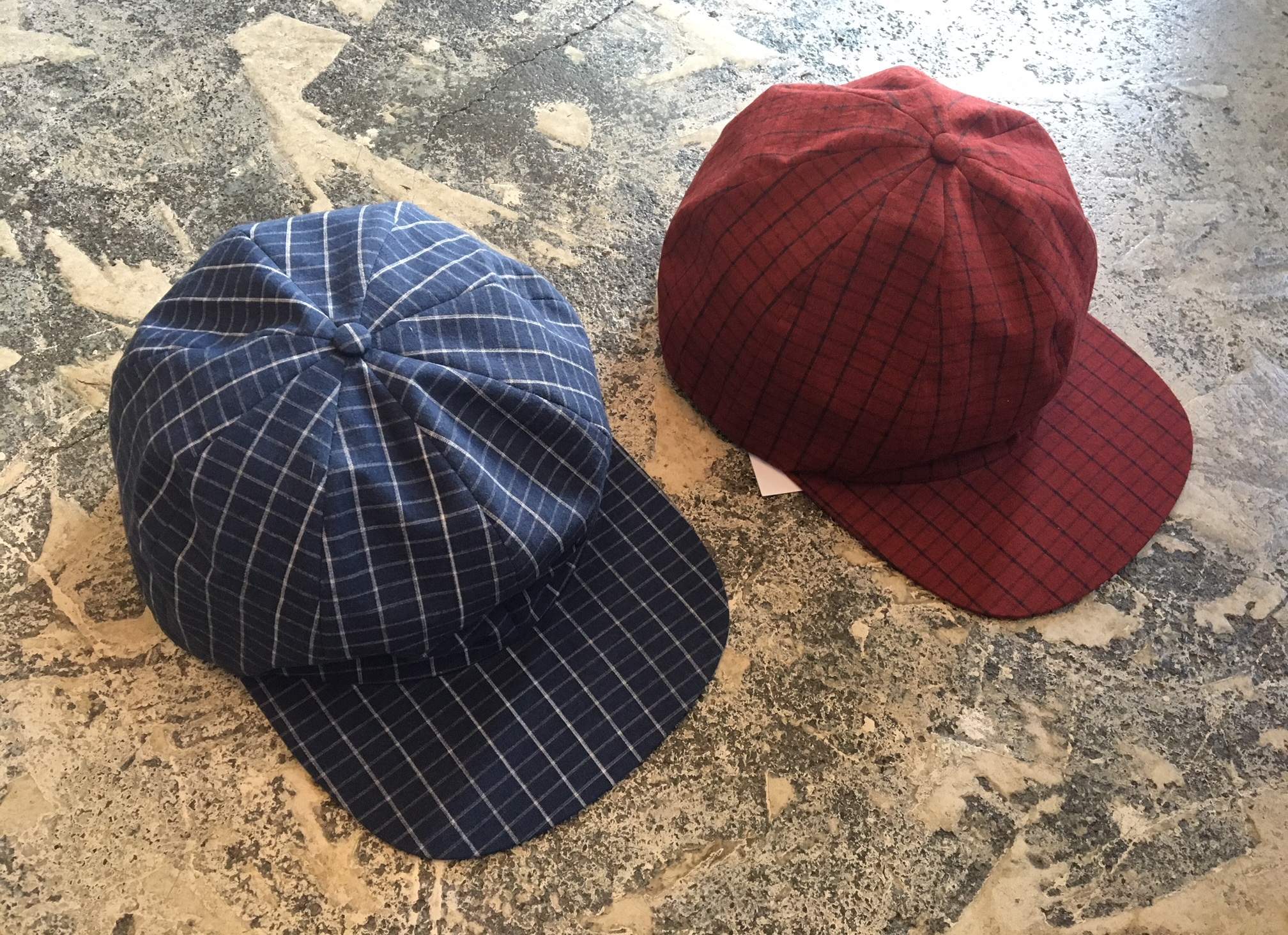 BRICK Check Cap :SUNSEA