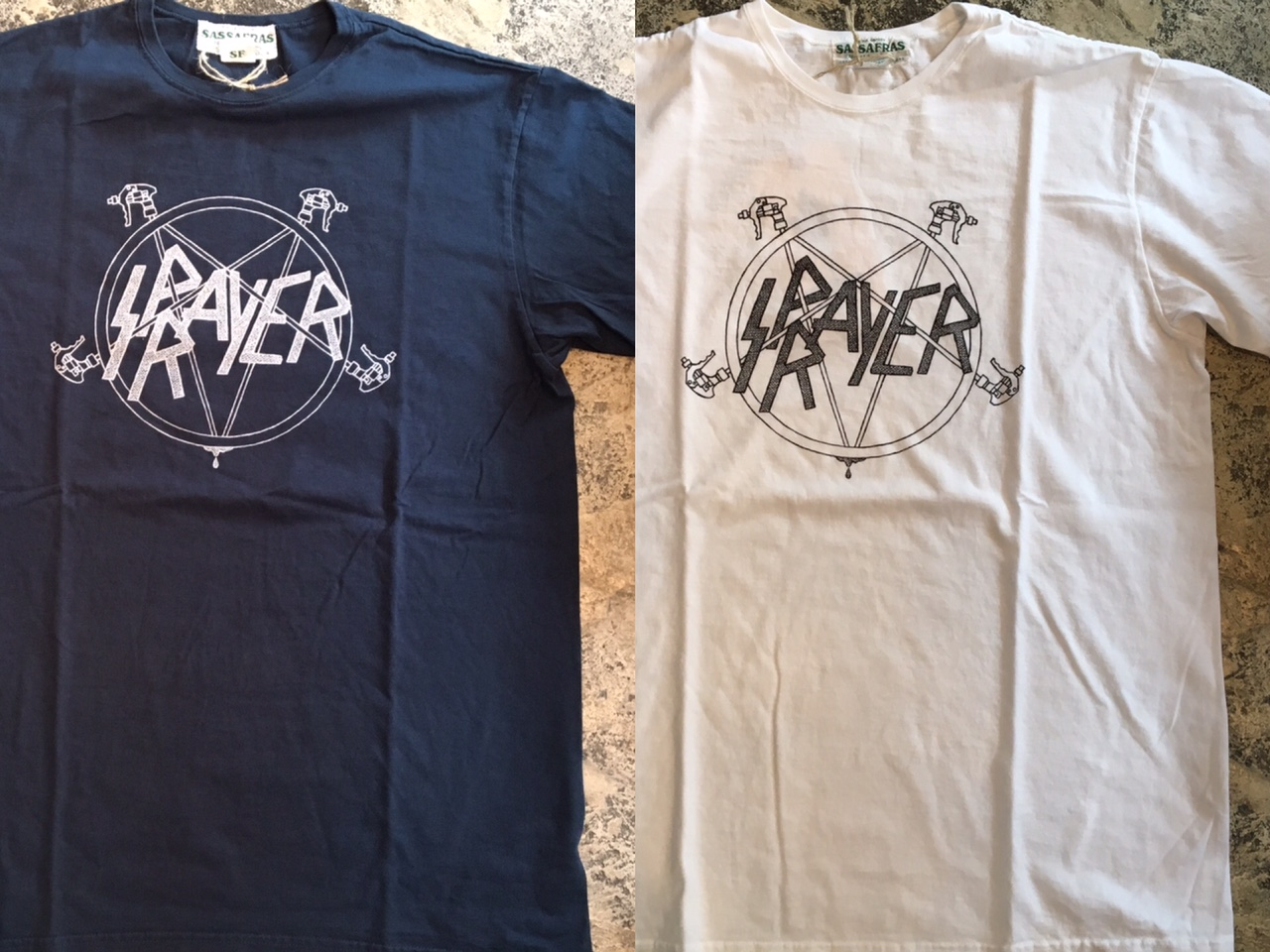 SPRAYER Tee :SASSAFRAS