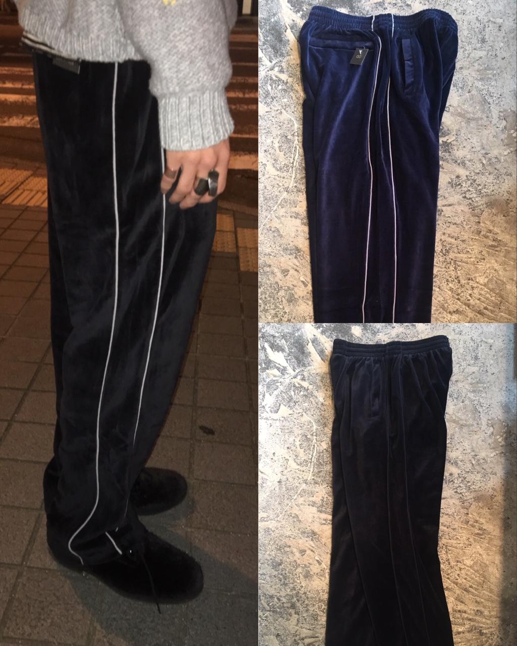 Velour Track Pants :sweatsedo /california