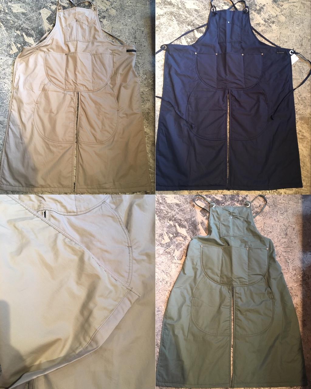 winter split apron :napron