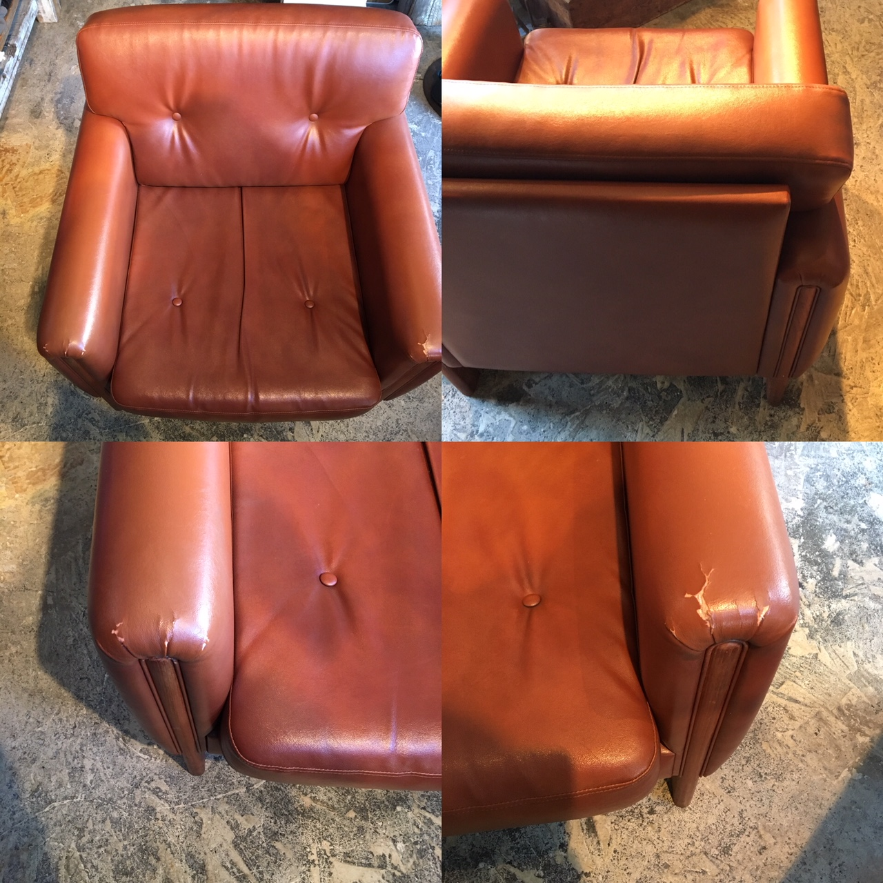 used single sofa